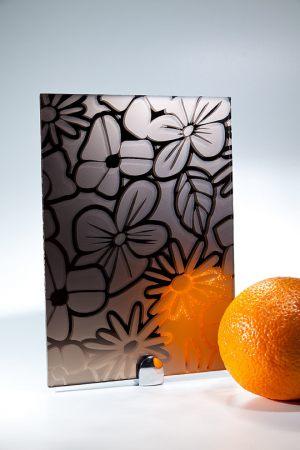 "Зеркало ""Цветы"" бронза Сургут"