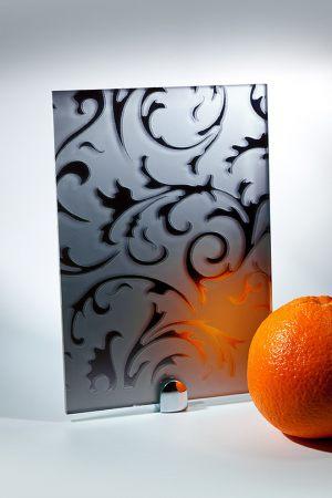 "Зеркало ""Барокко"" матовое графит Сургут"