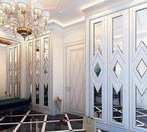 Двери с делителем наклейкой Сургут