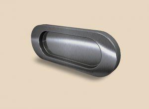 Ручка серебро глянец овальная Италия Сургут