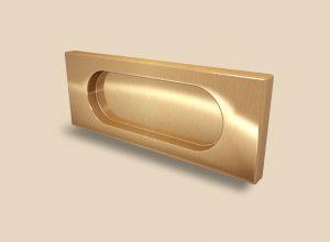 Ручка Золото глянец прямоугольная Италия Сургут
