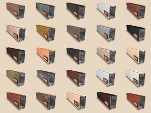 """Алюминиевый ламинированный профиль """"HOLZ"""" для шкафов купе и межкомнатных перегородок Более 100 цветов Сургут"""