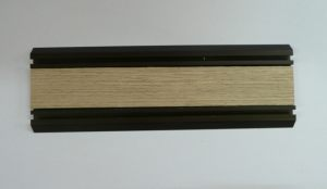 Направляющая нижняя для шкафа-купе вкладка шпон Сургут