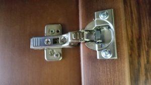 Петля для распашной двери с доводчиком Сургут