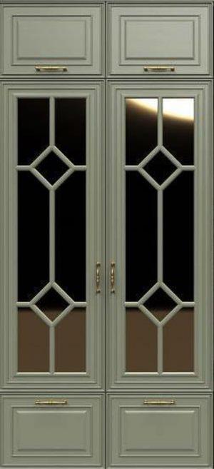 Фасад с фигурной филенкой эмаль Сургут