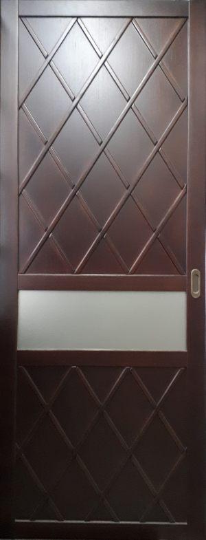 Вставка в дверь с фигурной филенкой Сургут