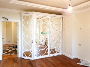 Двери с фигурной филенкой, эмаль Сургут